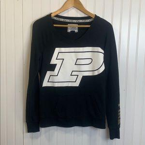 PINK Purdue collegiate crewneck sweatshirt